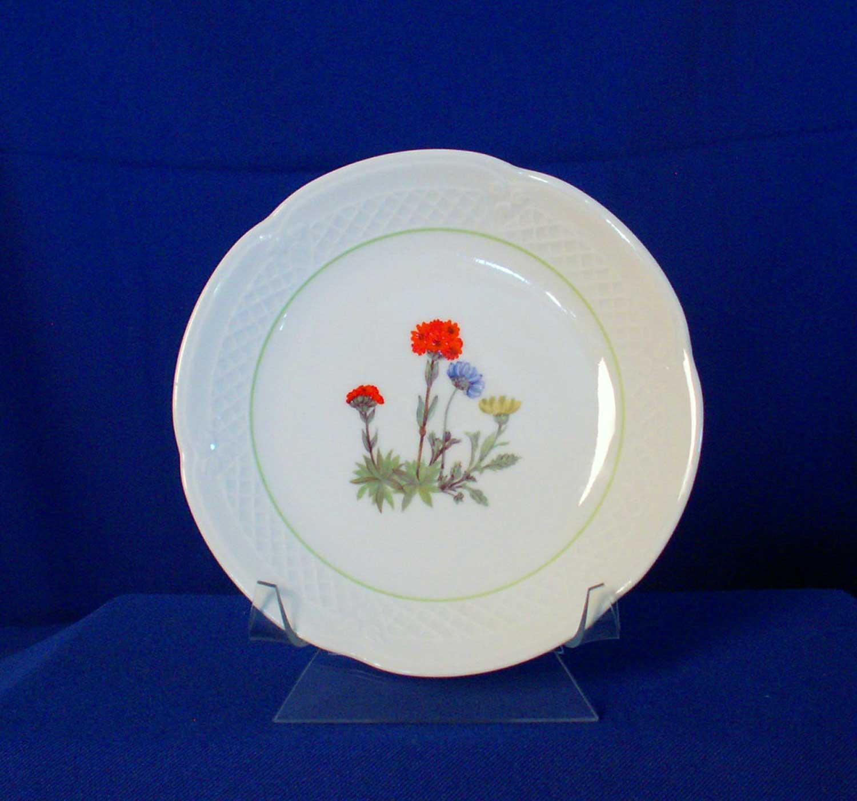 Louis Lourioux Wild Flower Canape Plate Floral Basket ...